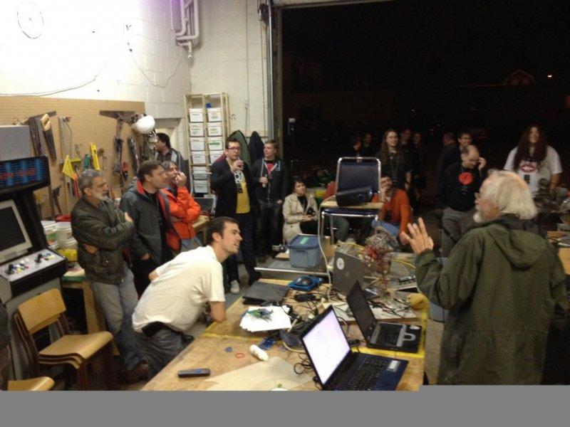 Lightning Talks at DIYode on Friday Night