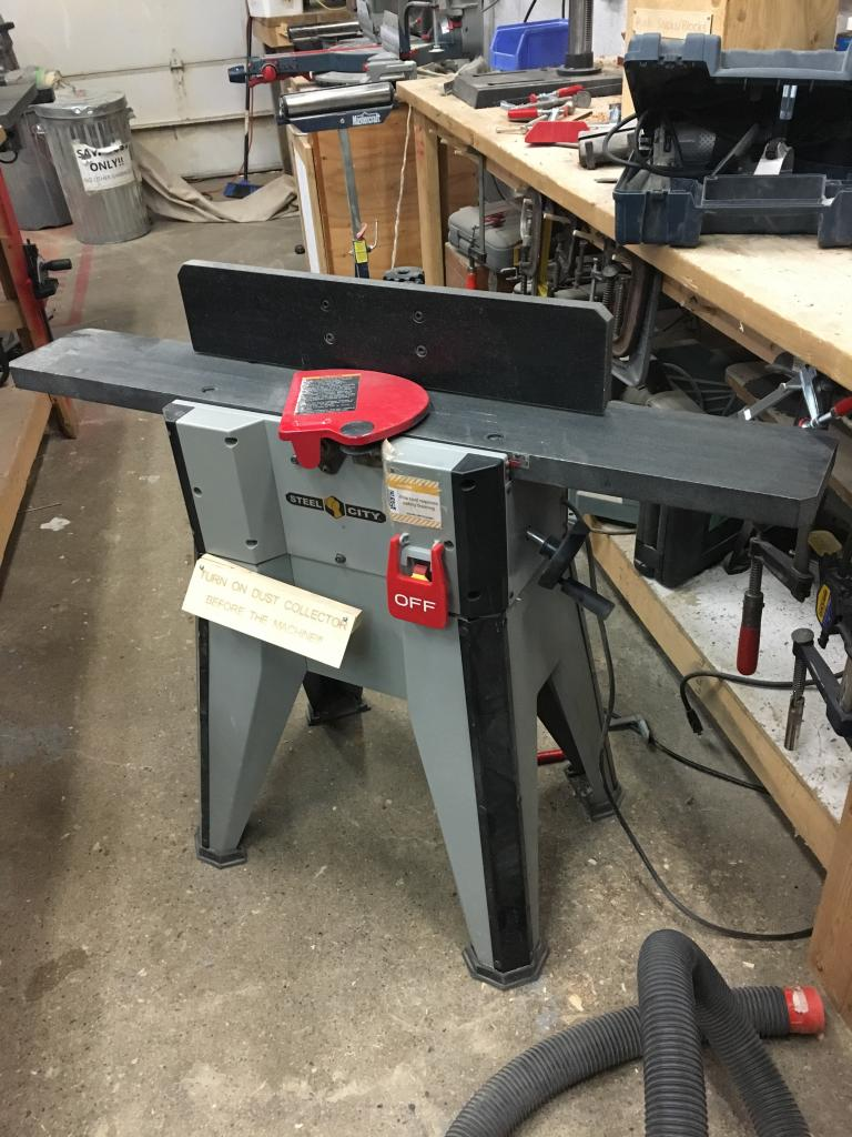 Tool Tracker Jointer